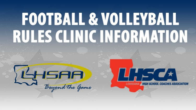 Football & Volleyball Rules Clinic Information